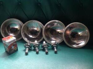 X4 Head Lights Lamps BEAM H4 DATSUN 1300 1400 1500 1600 SSS 2200 710 810 LAUREL