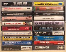 20x CLASSIC ROCK Cassette Lot: RARE 1960s Lovin' Spoonful The Monkees Guess Who