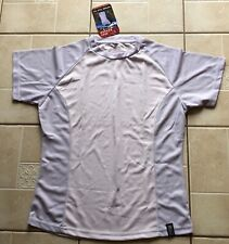 BNWT WOMENS TREK MATES LILAC SHORT SLEEVE CREW NECK QUICK DRYING TOP 16 XL 40""