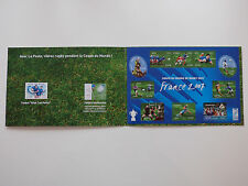 Bloc de timbres neufs sports Rugby France 2007