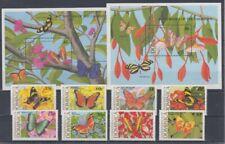 Dominica 1213 - 20+ Block 151/52 Butterflies (MNH)