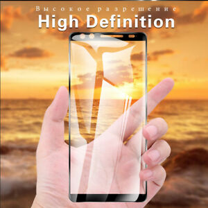 Tempered Glass Screen Protector Film Full Coverage For HTC U M Desire 20 10 Lot