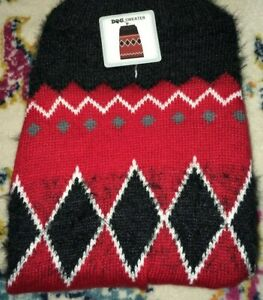 NEW S Pet Dog Cat Sweaters - Various Colors;  - Small fits Pug, Boston Terrier