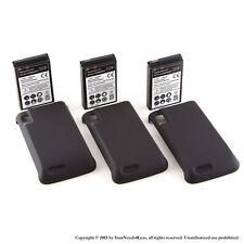 3 x 3500mAh Extended Battery for Motorola Atrix 4G MB860 Cover