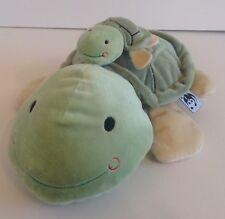 WWF World Wildlife Fund Baby Tyga and Pong Tortoise & Baby - Super Soft - Xmas
