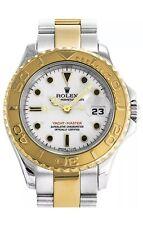 Rolex Yacht-Master LADY 18k oro automatico in acciaio inox ref. 69623