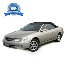 Toyota Solara Convertible Soft Top & Plastic Window 1999-2003 Black Twill
