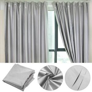 Silver Coated Outdoor Fabric Waterproof Sun Shade Curtains Tent Umbrella DIY
