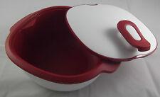 Tupperware C 190 warmietup warmie tup réservoir 2,25 L blanc/rouge NOUVEAU OVP