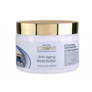 Mon Platin, DSM Dead Sea Minerals Anti-Aging Body Butter Coconut & Vanilla 300ml