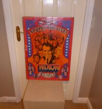 More details for 1968 richard nixon, nixon`s the one presidential election poster 28 x 20 inches