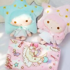 New Sanrio Little Twin Stars Car Office Cushion Pillow Soft Flannel Blanket Gift