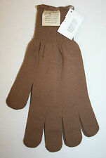 GI SURPLUS COYOTE BROWN CW GLOVE INSERTS LINERS SIZE XL NSN 8415-01-333-9714 NEW