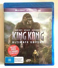 NEW King Kong 2005 Bluray Action Naomi Watts Peter Jackson Brody Blu-ray Movie