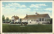 Laconia NH Golf Country Club c1920 Postcard