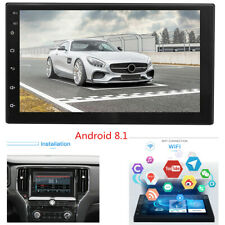 """7 """" 2 DIN Car HD Touch Screen Stereo Radio MP5 Player GPS Wifi 16G Android 8.1"""