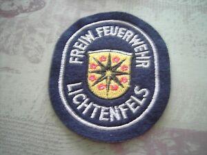 Feuerwehr Ärmelabzeichen Freiw. Feuerwehr Lichtenfels silber