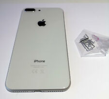 NEW IPHONE 8 PLUS REPLACEMENT BACK REAR HOUSING & FRAME BATTERY WHITE SILVER