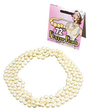 Charleston 1920' 1930's Flapper Beads, Pearls, Necklace,