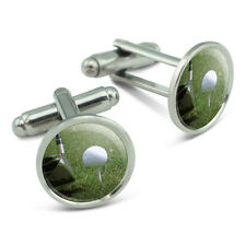 I'd Rather Be Driving a Golf Ball Men's Cufflinks Cuff Links Set