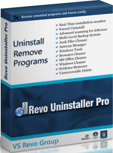 Revo Uninstaller Pro 3 - Lifetime license 1 Pc