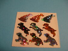 hambly studios sparkly mini dogs  sticker module(free ship $20 min)