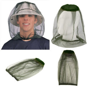 Anti Mosquito Hat Net Protection From Insects Fishing Camping Hiking Mesh Cover