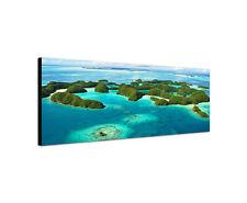 120x40cm70 Inseln Palau Panorama Mikronesien Pazifik Paradies Wandbild Sinus Art