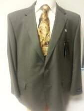 Big Men Suit New Henry Grethel Business Slack 2 PC Piece 52R Jacket Button Taupe
