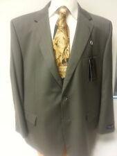 Big Men Suit New Henry Grethel Business Slack 2 PC Piece 52R Jacket Button Taupe