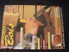 **m L'atelier Bois n°49 Une console d'angle / étagère d'angle / mise en teinte