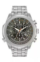 Citizen Men's Eco-Drive Chronograph Watch Perpetual Calendar & Date BL5400-52A