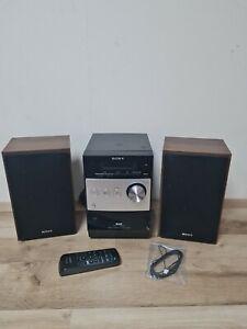 Sony CMT-FX250 Micro Component HiFi Shelf Stereo System DAB/CD/MP3/FM + remote