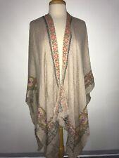 NEW Anthropologie Vismaya Wrap Shawl Kimono One Size XS S M L