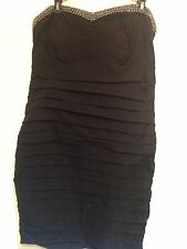 Torrid Black Millennium Tube Dress Size 20