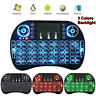 Mini i8 Backlight Wireless Keyboard 2.4GHz Remote Control Touchpad for TV Box PC