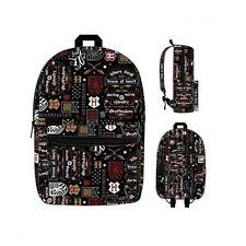 Harry Potter Gryffindor Icon Wizard Sorcerer Movie Backpack Bookbag BQ5M3DHPT