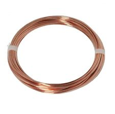 12 AWG Bare Solid Copper Round Wire 50 Ft Coil / Annealed