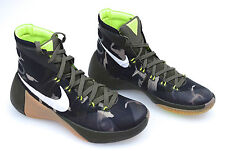 Nike Hyperdunk 2015 PRM Zapatillas Hi Top Botas-UK 8 (EUR 42.5) Camuflaje Verde