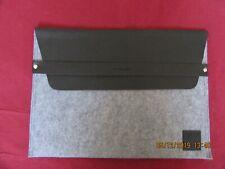 Porte document Guerlain feutrine gris