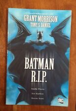 Batman R.I.P. By Grant Morrison/Tony S. Daniel - DC Trade Paperback GN - Used