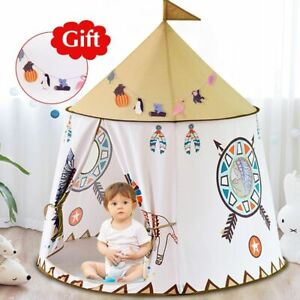 Children Tent House Princess Castle Playing Toy Portable Kids Playhouse 48x46in