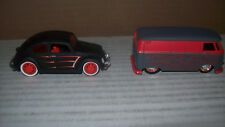 HOT WHEELS VW RAT ROD CARS AND BUSSES LOT OF 5