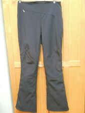 Spyder Black Slalom Softshell Ski Snowboard Pants Waterproof Sz 8, # 504602