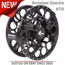 "Snowbee Spectre 7/8 Fly Reel Only│Ultra lightweight│3.7"" Diameter│One Size│Black"