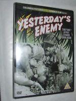 YESTERDAY'S ENEMY Stanley Baker Val Guest DVD NEW & SEALED Hammer