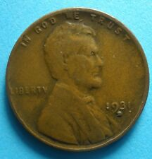 1931-D  Lincoln Cent  scarce nice coin  free shipping