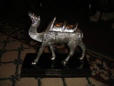 Stunning Camel Silver Metal-DBI Product India-Silver Camel Figure-Large-LQQK