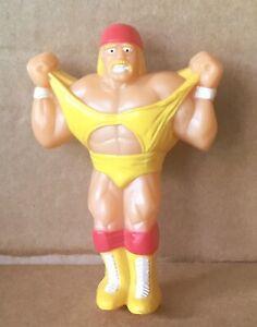 "WWF HULK HOGAN Soft Glow ""Action Figure"" Night Light 1991 Nite Lite - WORKS"