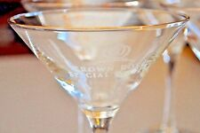 Crown Royal Special Reserve Crystal Martini Glass Each Sold Separately Bar Ware